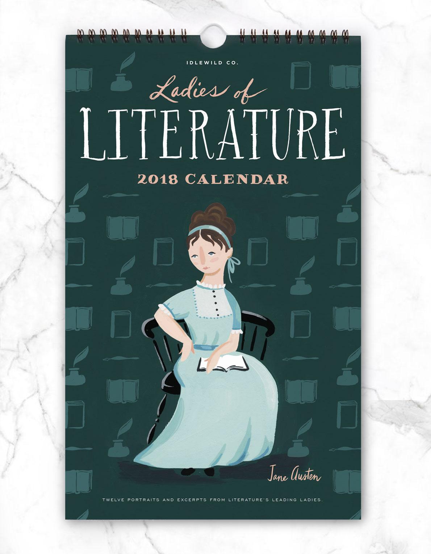 ladies of literature 2018 calendar idlewild co